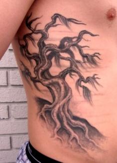 Weeping willow tree tattoo realistic tatttoos by frankie for Realistic tree tattoos